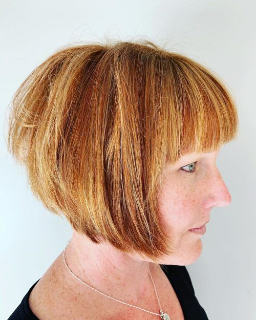 Look Fresh with Short Layered Haircuts for Older Women (Updated 2021) 546f277d722c3dd14424626760919011