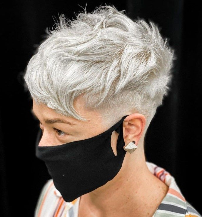 Trendy Short Haircut Styles for Women Over 50 (Updated 2021) 7a188139b256ef8813235490adfc24d3