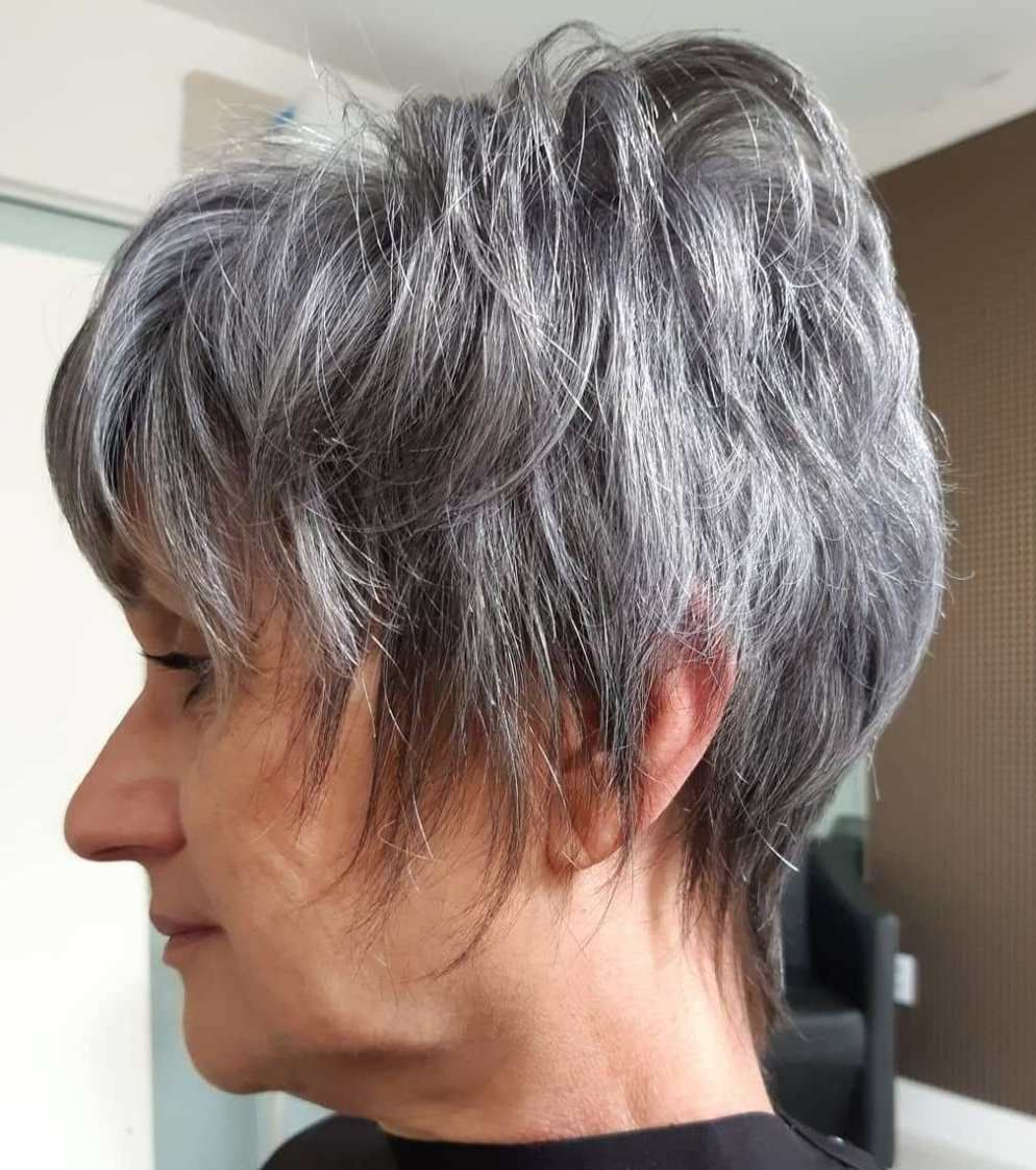 Looks Great in 60s with Cute Short Layered Haircuts (Updated 2021) 7f0f0f146328e3d0caccfadcc0d3eb82