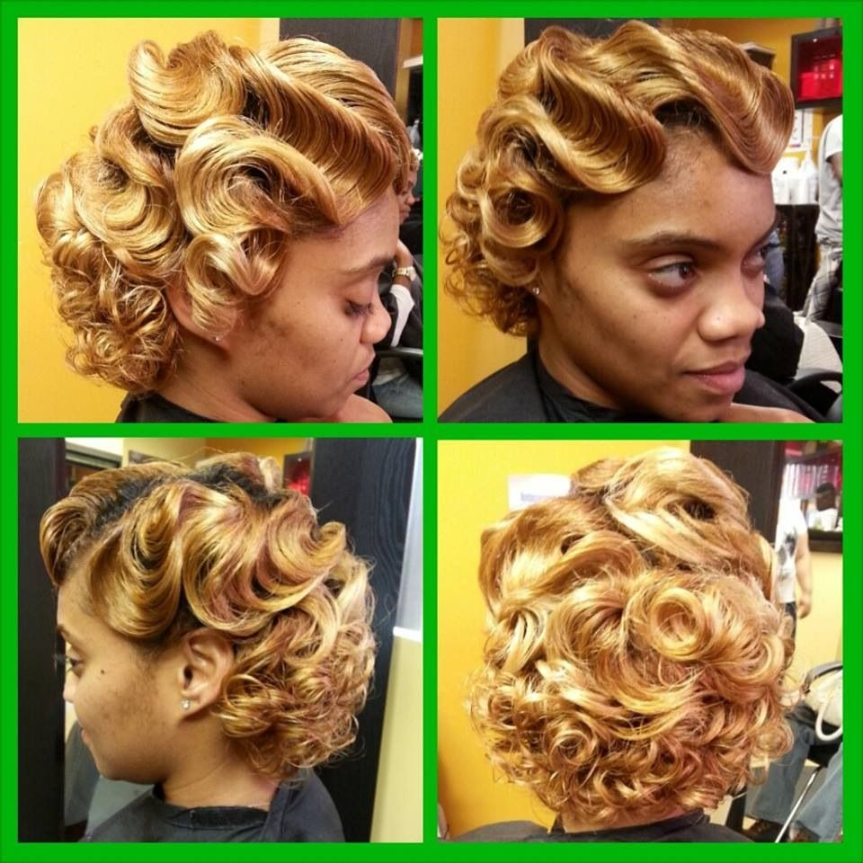 50 Gorgeous Finger Waves Hairstyles for Black Women (Updated 2021) 8a5dfcc72602776f45f18b3910cd9f66