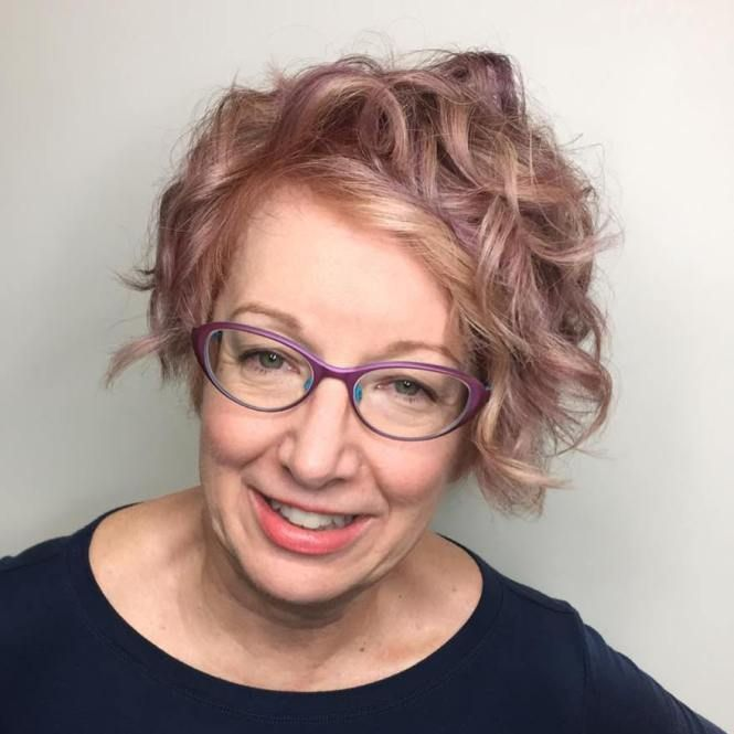 21 Short Hairstyles for Women with Grey Hair and Glasses (Updated 2021) 93aa163704bb043b2fc90b6d46119c92