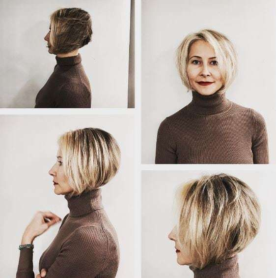 Looks Great in 60s with Cute Short Layered Haircuts (Updated 2021) 9dc7791e4d6f8ef1c1133de966cd0848
