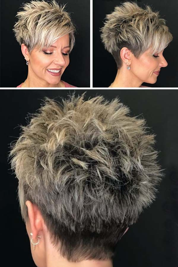 Look Fresh with Short Layered Haircuts for Older Women (Updated 2021) a19262e78bc91e3ec2395c5d3fb26400
