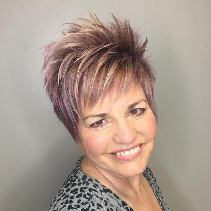 10 Short Hairstyles for Women Over 60 to Look Younger in 2021 a2a2ae62372964e5f55b86a9bf66a68c