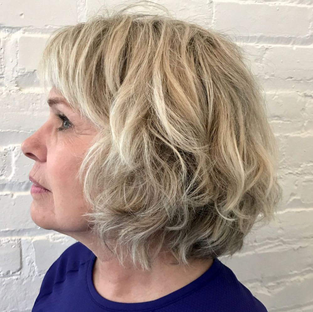 Inspiring Short Hairstyles for Older Women (Updated 2021) a65014f8d38bab2fe1236c90b8fed2d7