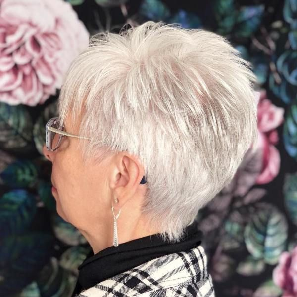 Look Fresh with Short Layered Haircuts for Older Women (Updated 2021) b03b80ee05c2b0bdf34e42718f9d85db