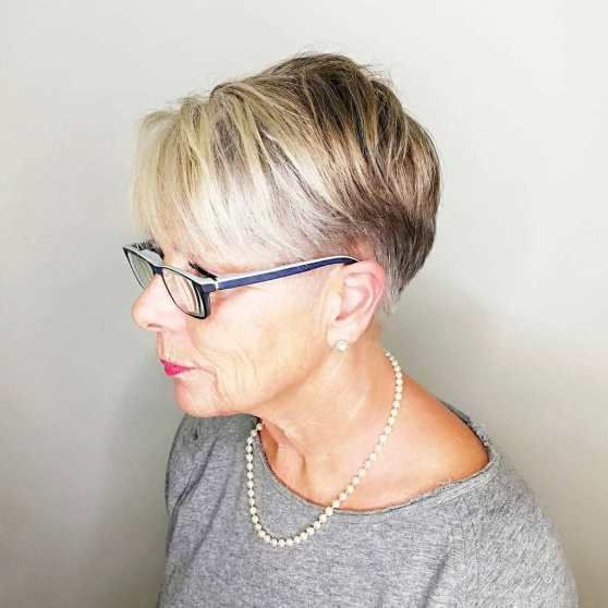 Trendy Short Haircut Styles for Women Over 50 (Updated 2021) bc6ed4a58e47c8a9472cfbbb85555712