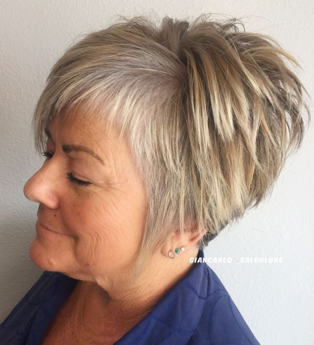 Inspiring Short Hairstyles for Older Women (Updated 2021) cff82200dcad960479bf15626b111aa4