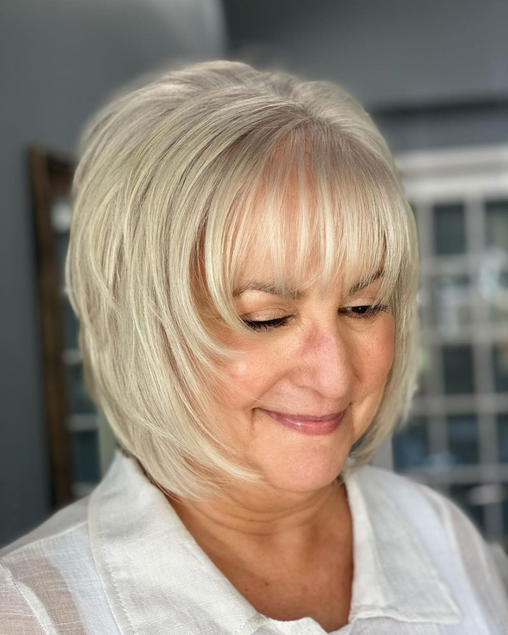 Look Fresh with Short Layered Haircuts for Older Women (Updated 2021) da74f9aacab41904baf664c456fbe98c
