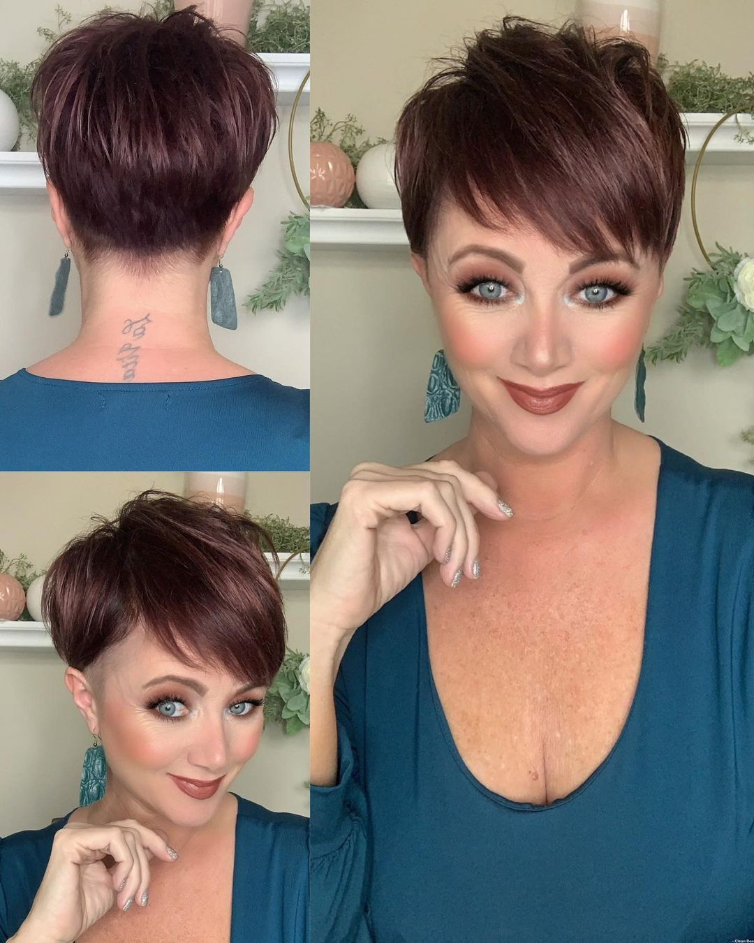 Latest Short Hairstyles for Women Over 50 (Updated 2021) 242972524b493f7f635d1115b7f0c123