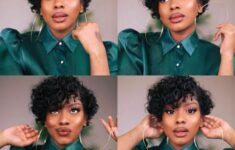 20 Short Natural Haircuts for Black Females (Updated in 2021)