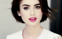 cute short bob haircut with layers